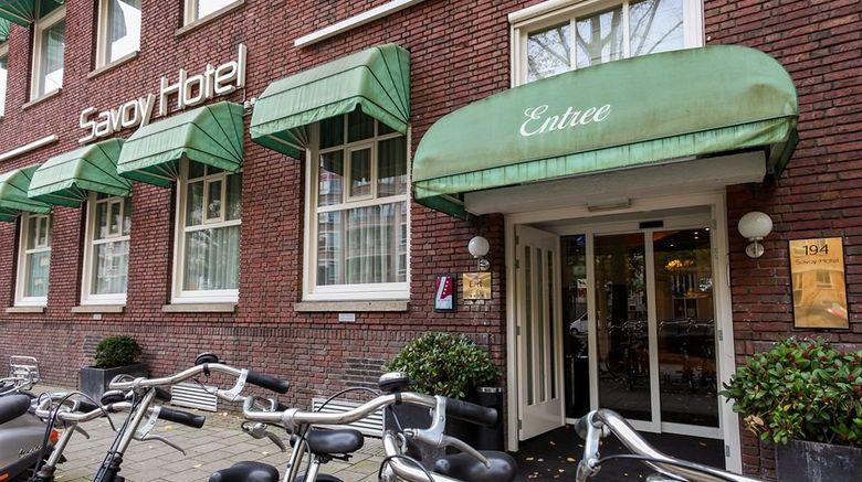 "Savoy Hotel Amsterdam Exterior. Images powered by <a href=""http://www.leonardo.com"" target=""_blank"" rel=""noopener"">Leonardo</a>."