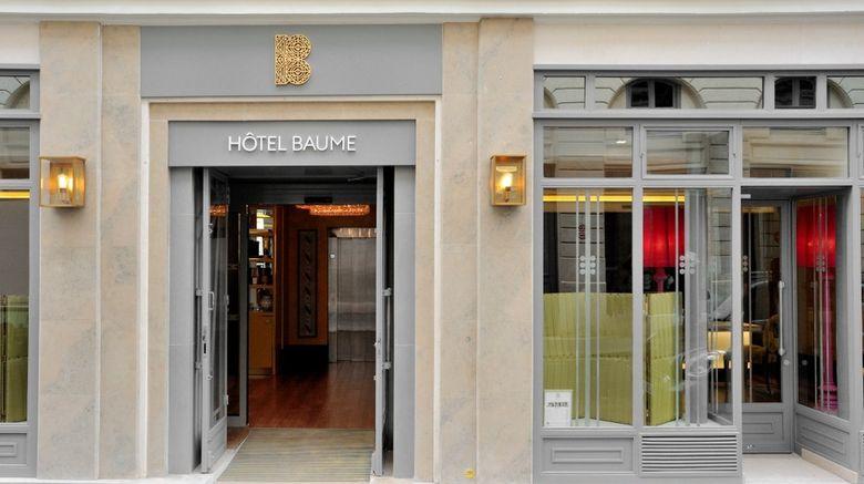 """Hotel Baume Paris Exterior. Images powered by <a href=""""http://www.leonardo.com"""" target=""""_blank"""" rel=""""noopener"""">Leonardo</a>."""
