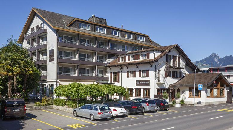 "Seerausch Swiss Quality Hotel Exterior. Images powered by <a href=""http://www.leonardo.com"" target=""_blank"" rel=""noopener"">Leonardo</a>."