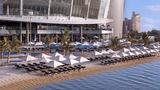 Jumeirah at Etihad Towers Hotel Beach