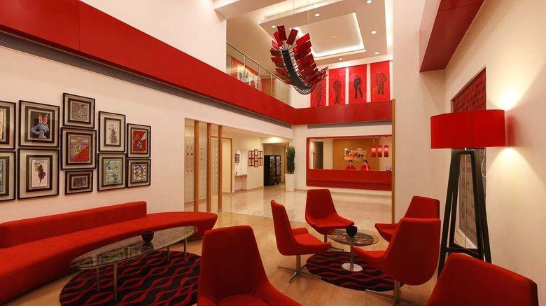 "Red Fox Hotel, Delhi Airport Lobby. Images powered by <a href=""http://www.leonardo.com"" target=""_blank"" rel=""noopener"">Leonardo</a>."