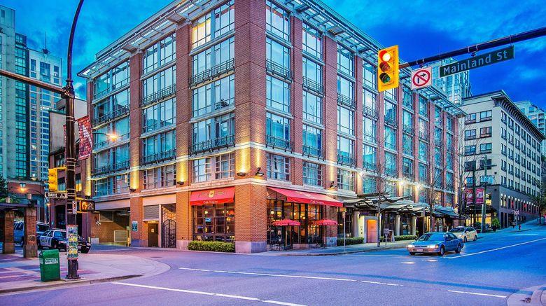 "Opus Hotel Vancouver Exterior. Images powered by <a href=""http://www.leonardo.com"" target=""_blank"" rel=""noopener"">Leonardo</a>."