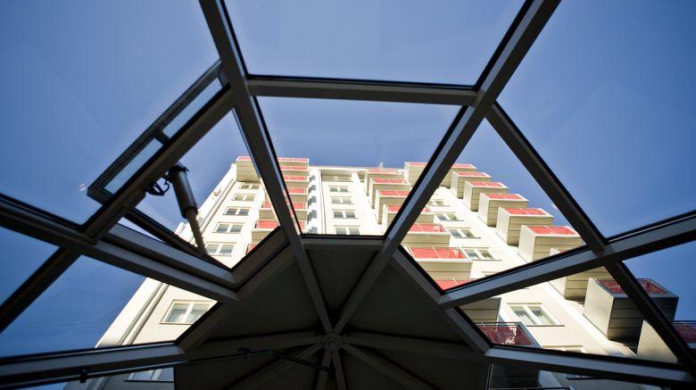 "Thon Hotel Oslo Panorama Exterior. Images powered by <a href=""http://www.leonardo.com"" target=""_blank"" rel=""noopener"">Leonardo</a>."
