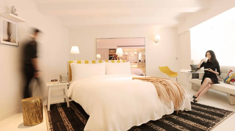 "S Hotel Taipei Room. Images powered by <a href=""http://www.leonardo.com"" target=""_blank"" rel=""noopener"">Leonardo</a>."