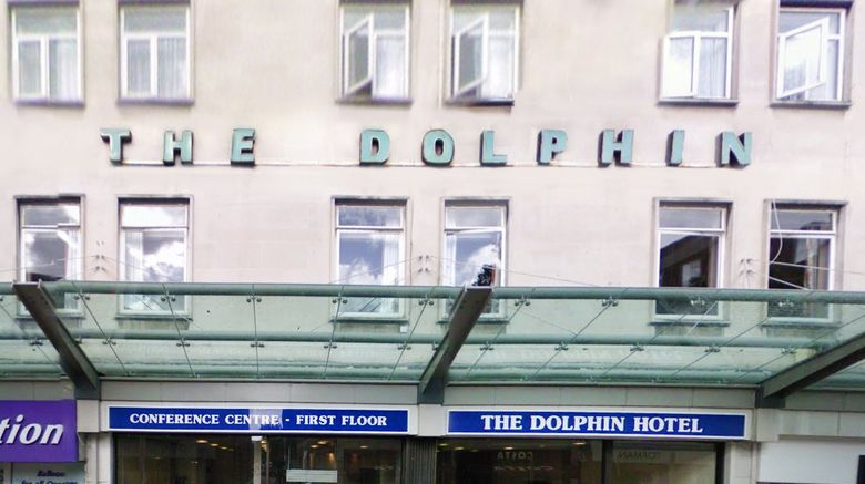 "Dolphin Hotel Exterior. Images powered by <a href=""http://www.leonardo.com"" target=""_blank"" rel=""noopener"">Leonardo</a>."