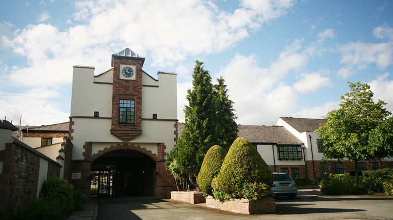 """Crabwall Manor Hotel Chester Exterior. Images powered by <a href=""""http://www.leonardo.com"""" target=""""_blank"""" rel=""""noopener"""">Leonardo</a>."""
