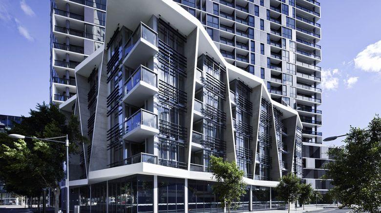 "The Sebel Residences Melbourne Docklands Exterior. Images powered by <a href=""http://www.leonardo.com"" target=""_blank"" rel=""noopener"">Leonardo</a>."