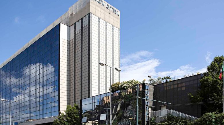 "Novotel Genova Ovest Exterior. Images powered by <a href=""http://www.leonardo.com"" target=""_blank"" rel=""noopener"">Leonardo</a>."