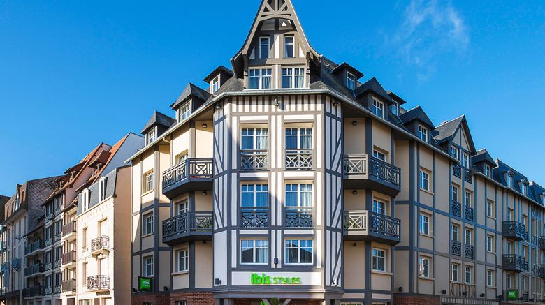 """Ibis Styles Deauville Centre Exterior. Images powered by <a href=""""http://www.leonardo.com"""" target=""""_blank"""" rel=""""noopener"""">Leonardo</a>."""