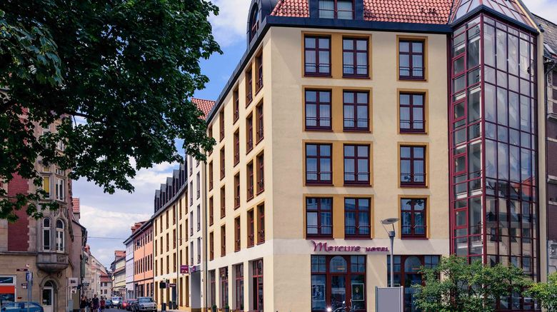 "Mercure Hotel Erfurt Altstadt Exterior. Images powered by <a href=""http://www.leonardo.com"" target=""_blank"" rel=""noopener"">Leonardo</a>."