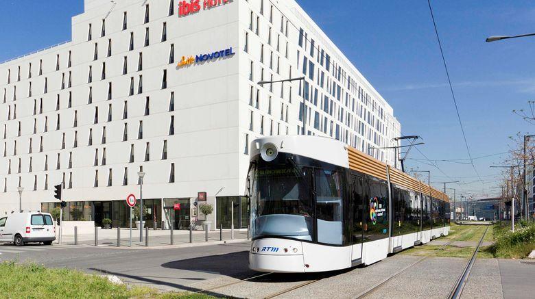 "Hotel Ibis Marseille Euromediterranee Exterior. Images powered by <a href=""http://www.leonardo.com"" target=""_blank"" rel=""noopener"">Leonardo</a>."