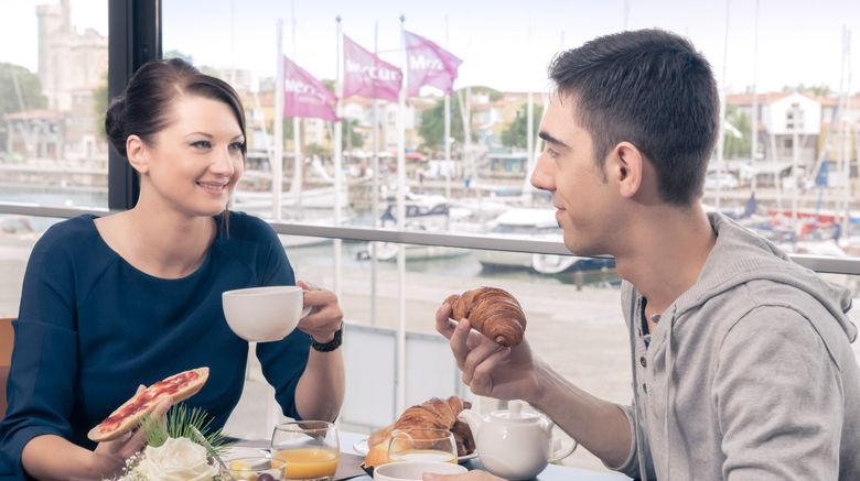 "<b>Mercure La Rochelle Vieux Port Sud Restaurant</b>. Images powered by <a href=""https://leonardo.com/"" title=""Leonardo Worldwide"" target=""_blank"">Leonardo</a>."