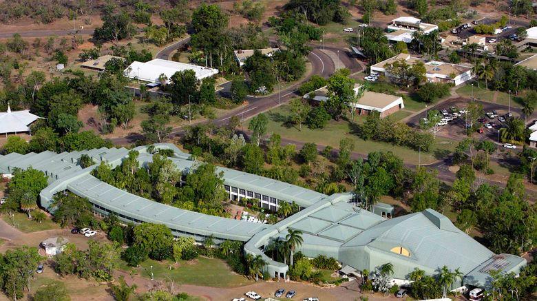 "Mercure Kakadu Crocodile Hotel Exterior. Images powered by <a href=""http://www.leonardo.com"" target=""_blank"" rel=""noopener"">Leonardo</a>."