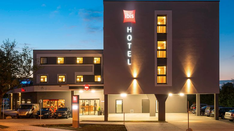 """Ibis Muenchen Airport Sued Exterior. Images powered by <a href=""""http://www.leonardo.com"""" target=""""_blank"""" rel=""""noopener"""">Leonardo</a>."""