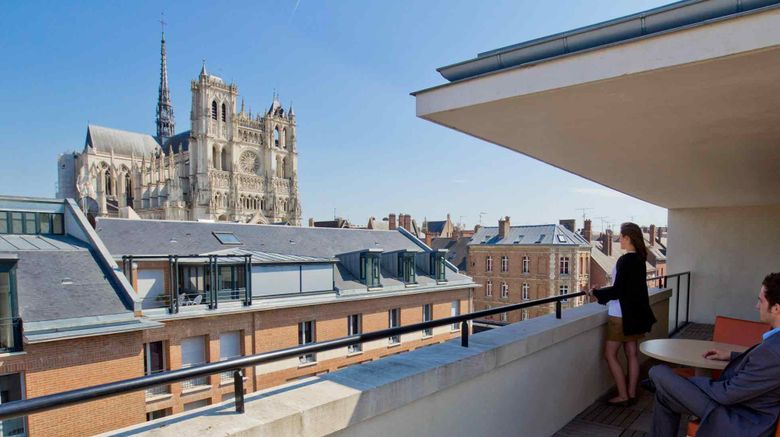 """Mercure Amiens Cathedrale Exterior. Images powered by <a href=""""http://www.leonardo.com"""" target=""""_blank"""" rel=""""noopener"""">Leonardo</a>."""