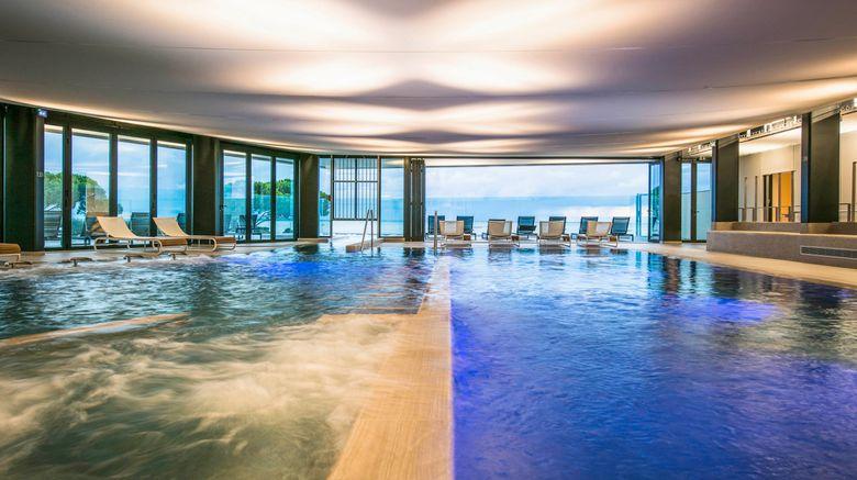 """<b>La Grande Terrasse La Rochelle Hotel Spa Pool</b>. Images powered by <a href=""""https://leonardo.com/"""" title=""""Leonardo Worldwide"""" target=""""_blank"""">Leonardo</a>."""