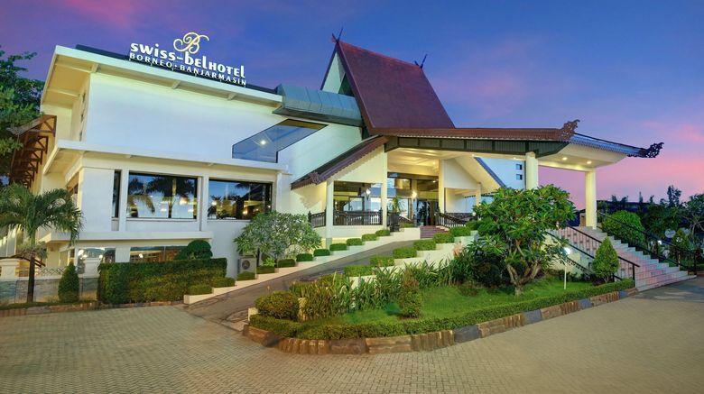 "Swiss-Belhotel Borneo Banjarmasin Exterior. Images powered by <a href=""http://www.leonardo.com"" target=""_blank"" rel=""noopener"">Leonardo</a>."