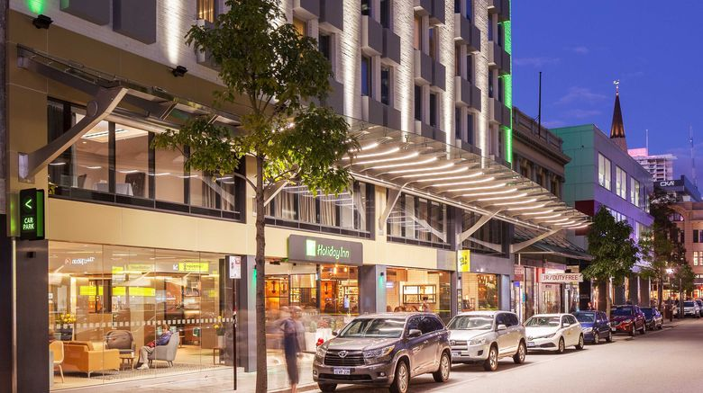 "Holiday Inn Perth City Centre Exterior. Images powered by <a href=""http://www.leonardo.com"" target=""_blank"" rel=""noopener"">Leonardo</a>."