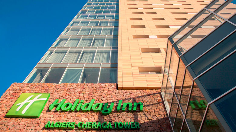 "Holiday Inn Algiers - Cheraga Tower Exterior. Images powered by <a href=""http://www.leonardo.com"" target=""_blank"" rel=""noopener"">Leonardo</a>."