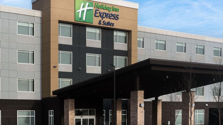 "Holiday Inn Express/Stes West Edmonton Exterior. Images powered by <a href=""http://www.leonardo.com"" target=""_blank"" rel=""noopener"">Leonardo</a>."