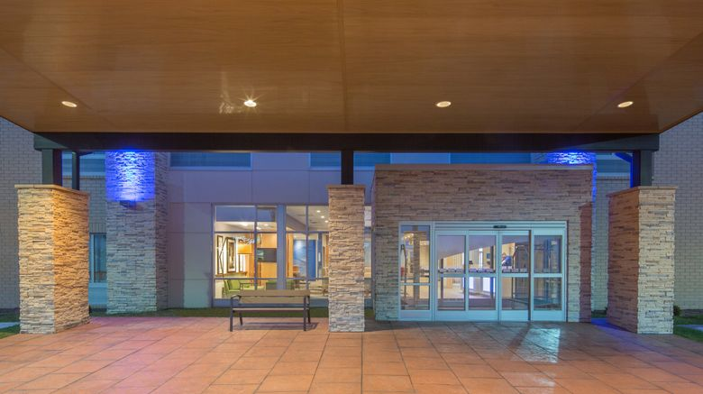 """Holiday Inn Express/Stes Indianapolis NW Exterior. Images powered by <a href=""""http://www.leonardo.com"""" target=""""_blank"""" rel=""""noopener"""">Leonardo</a>."""