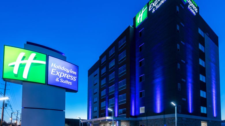 """Holiday Inn Express  and  Stes Jersey City Exterior. Images powered by <a href=""""http://www.leonardo.com"""" target=""""_blank"""" rel=""""noopener"""">Leonardo</a>."""