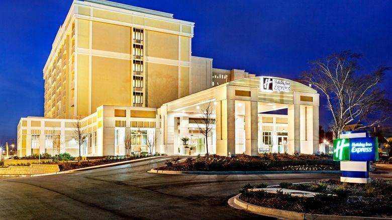"Holiday Inn Express Dwtn - Medical Area Exterior. Images powered by <a href=""http://www.leonardo.com"" target=""_blank"" rel=""noopener"">Leonardo</a>."