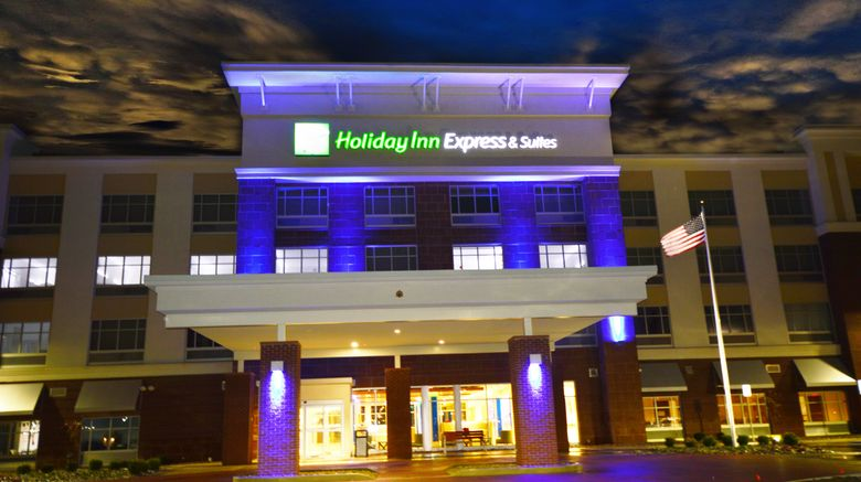 """Holiday Inn Express  and  Suites Toledo Sout Exterior. Images powered by <a href=""""http://www.leonardo.com"""" target=""""_blank"""" rel=""""noopener"""">Leonardo</a>."""