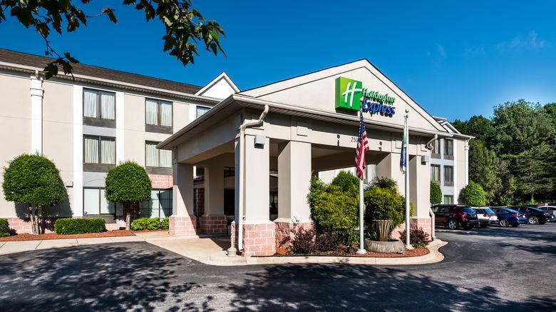 "Holiday Inn Express CLT Arpt Belmont Exterior. Images powered by <a href=""http://www.leonardo.com"" target=""_blank"" rel=""noopener"">Leonardo</a>."