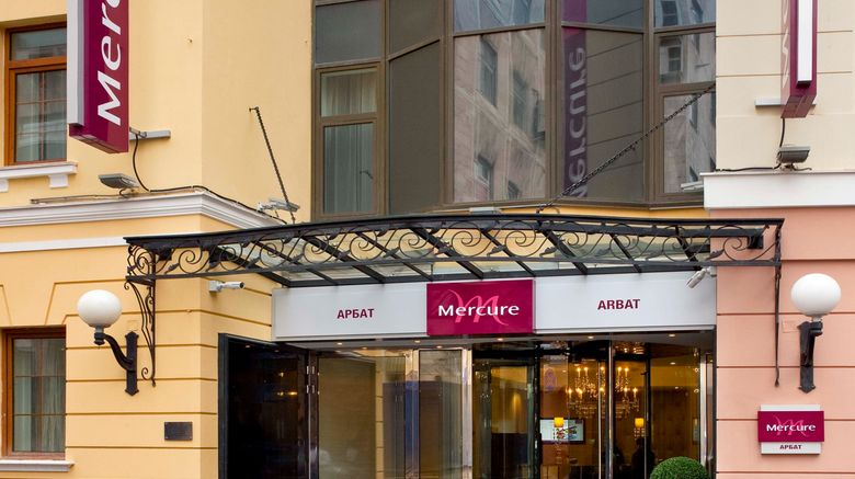 "Mercure Arbat Moscow Exterior. Images powered by <a href=""http://www.leonardo.com"" target=""_blank"" rel=""noopener"">Leonardo</a>."