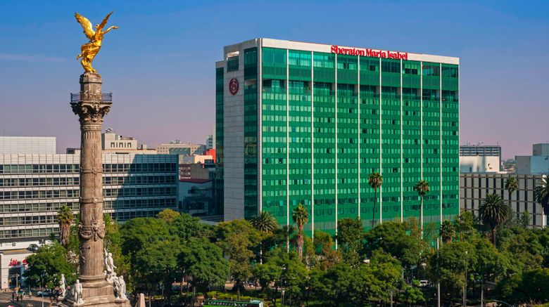 "Sheraton Mexico City Maria Isabel Hotel Exterior. Images powered by <a href=""http://www.leonardo.com"" target=""_blank"" rel=""noopener"">Leonardo</a>."