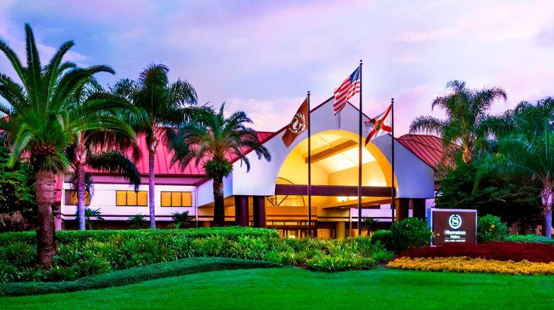 "Sheraton Suites Orlando Airport Exterior. Images powered by <a href=""http://www.leonardo.com"" target=""_blank"" rel=""noopener"">Leonardo</a>."