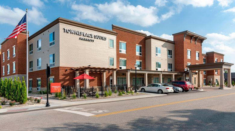 """TownePlace Suites by Marriott North Exterior. Images powered by <a href=""""http://www.leonardo.com"""" target=""""_blank"""" rel=""""noopener"""">Leonardo</a>."""