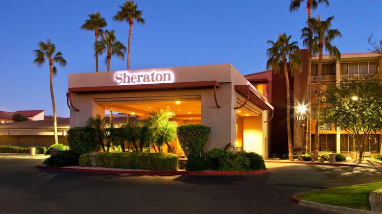 "Sheraton Phoenix Airport Hotel Tempe Exterior. Images powered by <a href=""http://www.leonardo.com"" target=""_blank"" rel=""noopener"">Leonardo</a>."