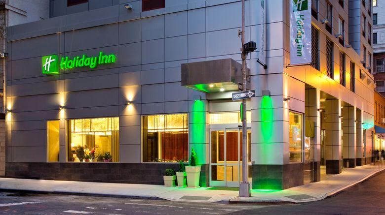 "Holiday Inn Manhattan-Financial District Exterior. Images powered by <a href=""http://www.leonardo.com"" target=""_blank"" rel=""noopener"">Leonardo</a>."