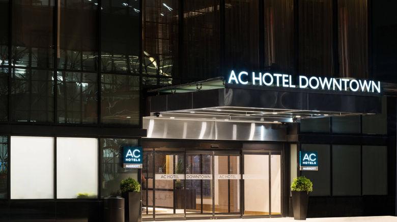 "AC Hotel New York Downtown Exterior. Images powered by <a href=""http://www.leonardo.com"" target=""_blank"" rel=""noopener"">Leonardo</a>."
