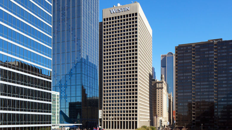 "The Westin Dallas Downtown Exterior. Images powered by <a href=""http://www.leonardo.com"" target=""_blank"" rel=""noopener"">Leonardo</a>."