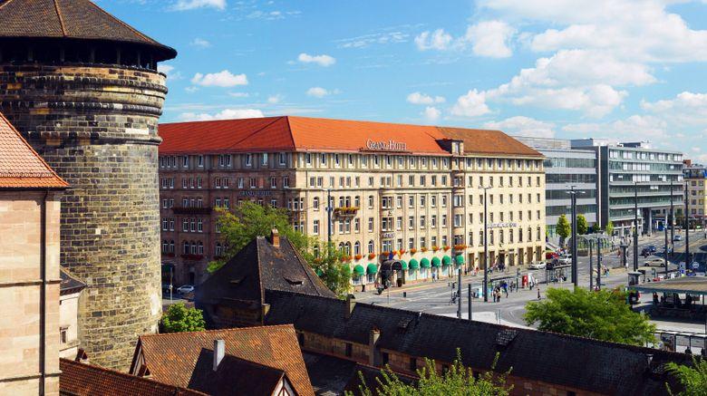 "Le Meridien Grand Hotel Nuremberg Exterior. Images powered by <a href=""http://www.leonardo.com"" target=""_blank"" rel=""noopener"">Leonardo</a>."