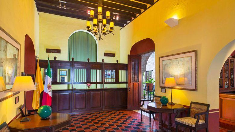 "Hacienda Puerta Campeche, Luxury Coll Lobby. Images powered by <a href=""http://www.leonardo.com"" target=""_blank"" rel=""noopener"">Leonardo</a>."