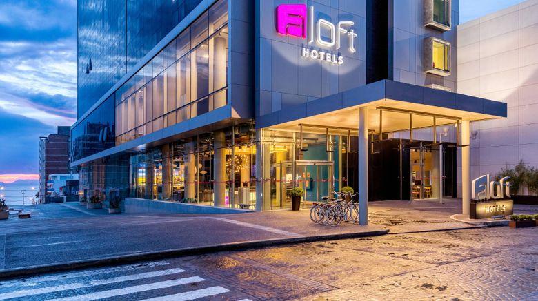 "Aloft Montevideo Hotel Exterior. Images powered by <a href=""http://www.leonardo.com"" target=""_blank"" rel=""noopener"">Leonardo</a>."
