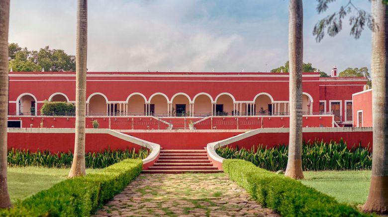 "Hacienda Temozon, Luxury Collection Exterior. Images powered by <a href=""http://www.leonardo.com"" target=""_blank"" rel=""noopener"">Leonardo</a>."