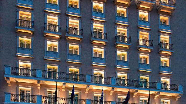 """King George, A Luxury Collection Hotel Exterior. Images powered by <a href=""""http://www.leonardo.com"""" target=""""_blank"""" rel=""""noopener"""">Leonardo</a>."""