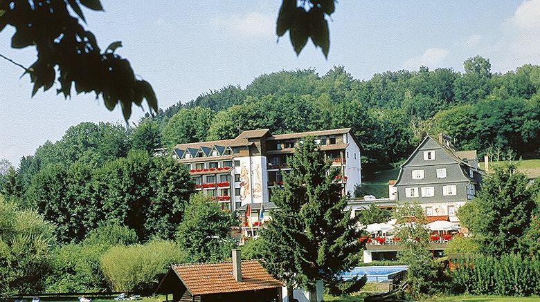 """Ringhotel Siegfriedbrunnen Exterior. Images powered by <a href=""""http://www.leonardo.com"""" target=""""_blank"""" rel=""""noopener"""">Leonardo</a>."""