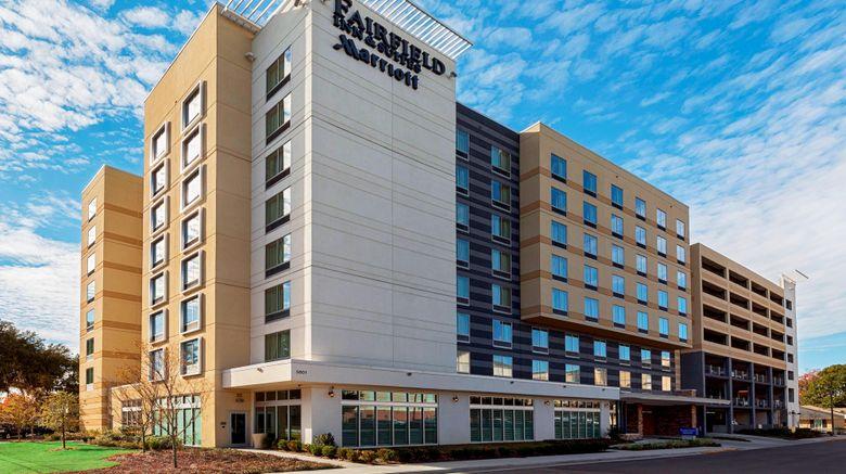 "Fairfield Inn  and  Suites Savannah Midtown Exterior. Images powered by <a href=""http://www.leonardo.com"" target=""_blank"" rel=""noopener"">Leonardo</a>."