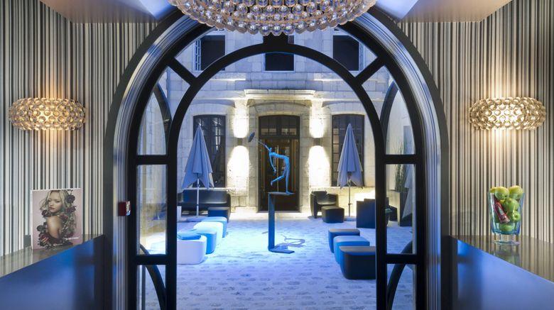 "<b>La Monnaie Art & Spa Hotel Lobby</b>. Images powered by <a href=""https://leonardo.com/"" title=""Leonardo Worldwide"" target=""_blank"">Leonardo</a>."
