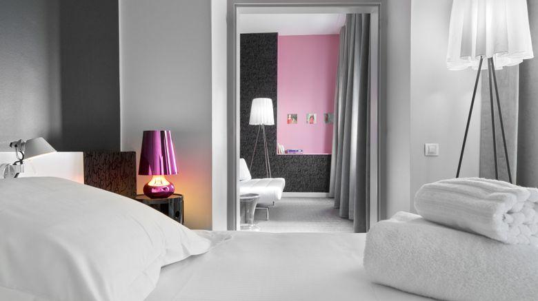 "<b>La Monnaie Art & Spa Hotel Suite</b>. Images powered by <a href=""https://leonardo.com/"" title=""Leonardo Worldwide"" target=""_blank"">Leonardo</a>."