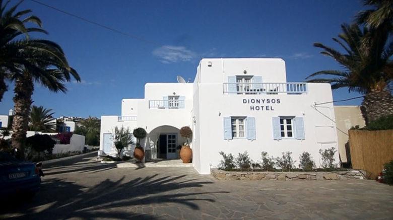 "Dionysos Luxury Hotel Exterior. Images powered by <a href=""http://www.leonardo.com"" target=""_blank"" rel=""noopener"">Leonardo</a>."