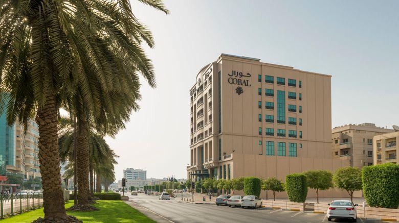 "Coral Deira Hotel Exterior. Images powered by <a href=""http://www.leonardo.com"" target=""_blank"" rel=""noopener"">Leonardo</a>."