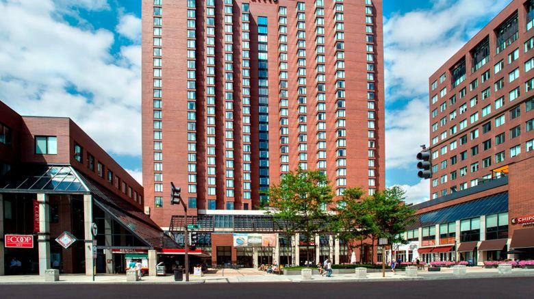 "Boston Marriott Cambridge Exterior. Images powered by <a href=""http://www.leonardo.com"" target=""_blank"" rel=""noopener"">Leonardo</a>."