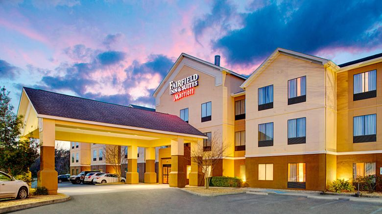 """Fairfield Inn  and  Suites Lafayette South Exterior. Images powered by <a href=""""http://www.leonardo.com"""" target=""""_blank"""" rel=""""noopener"""">Leonardo</a>."""